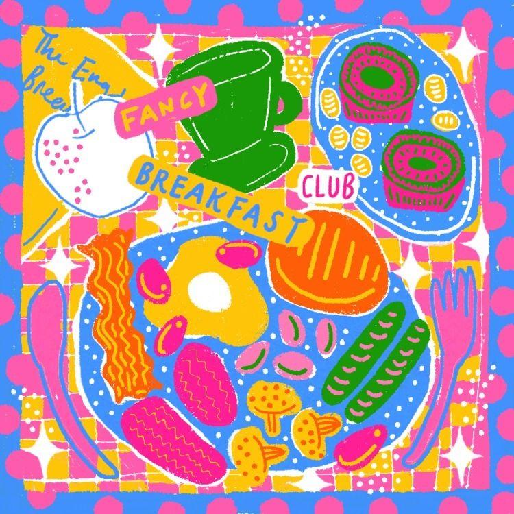 Fancy Breakfast Club - zilinyee   ello