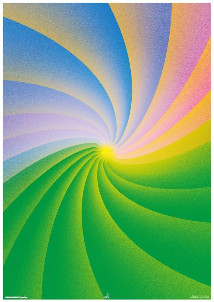 Morning Glow - poster, posterdesign - madleif | ello