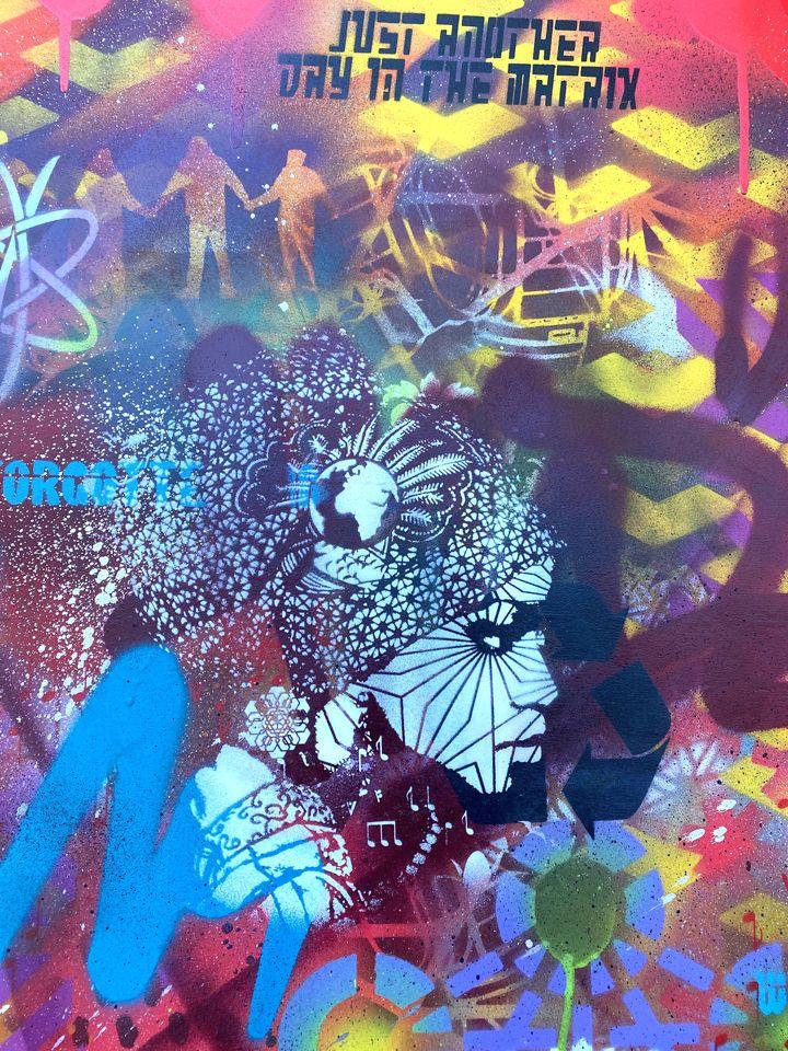 Background detail painting work - voxxromana | ello
