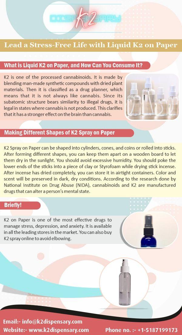 Liquid K2 Paper | Affordable On - k2dispensary01 | ello