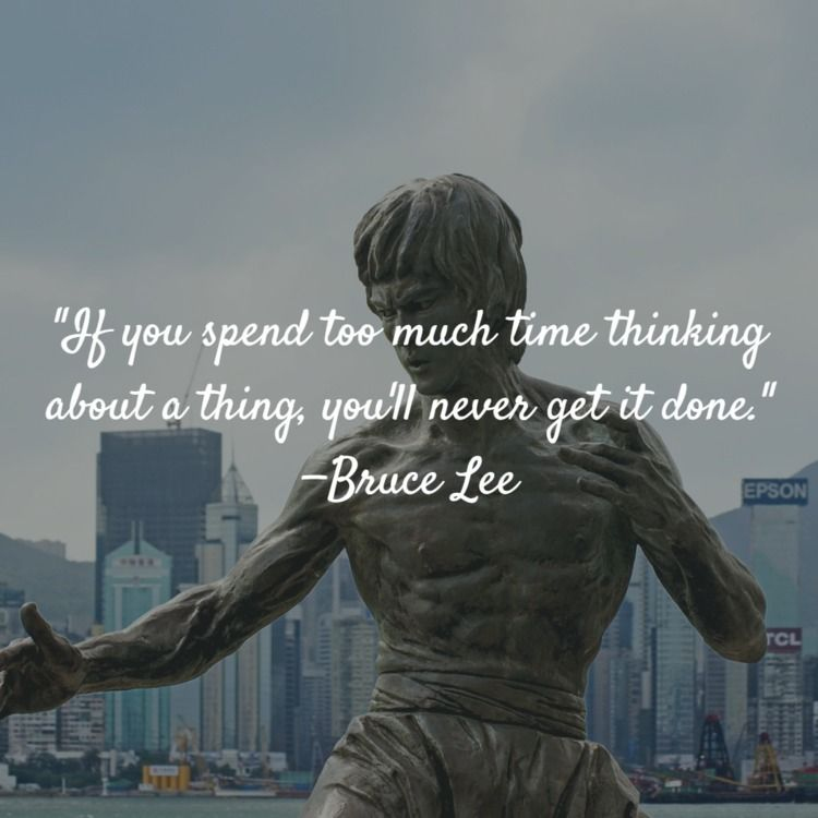 spend time thinking —Bruce Lee - dailyinspiration   ello