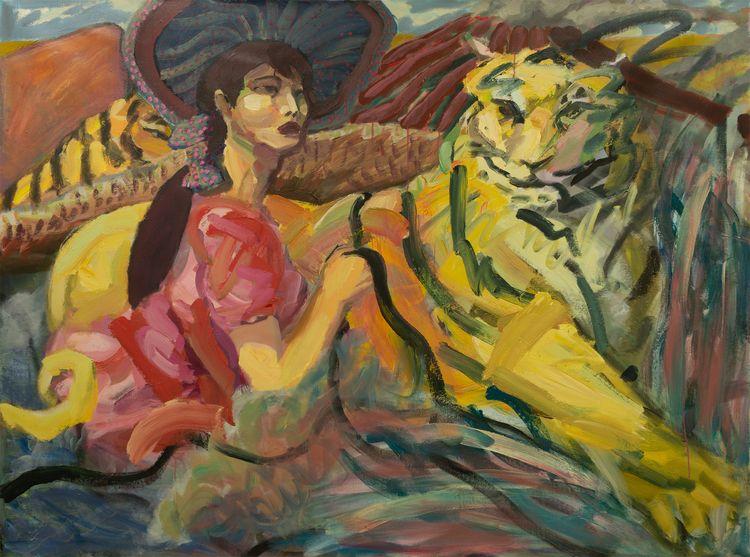 Tiger Express Acrylic canvas, 6 - chunbumpark | ello
