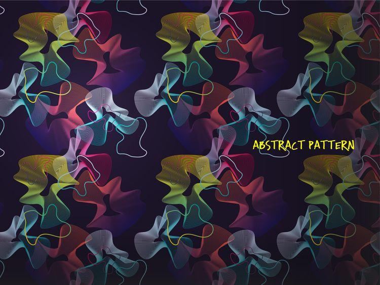 Abstract artwork gradient patte - yaninja   ello