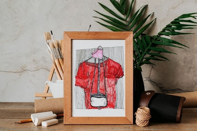 Hand drawn sketch bags mask que - yaninja   ello