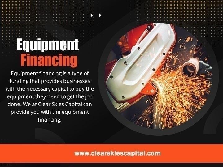 Equipment Financing equipment f - clearskiescapital | ello