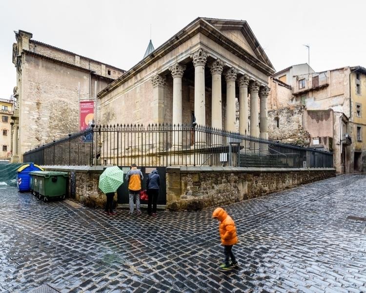 Rainy Dat at the Roman Temple.jpg