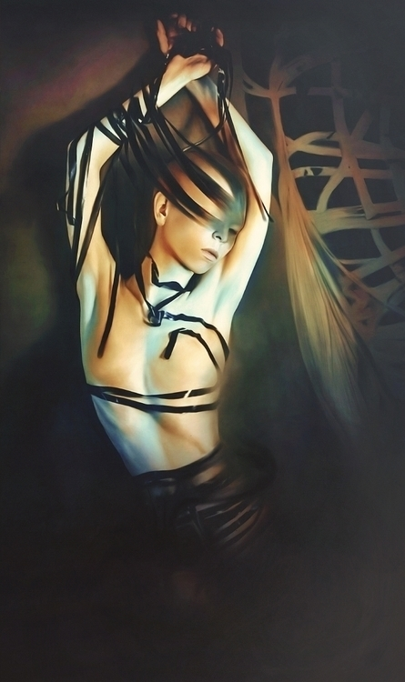 Ekaterina Zagustina - self-portrait - Human.jpg