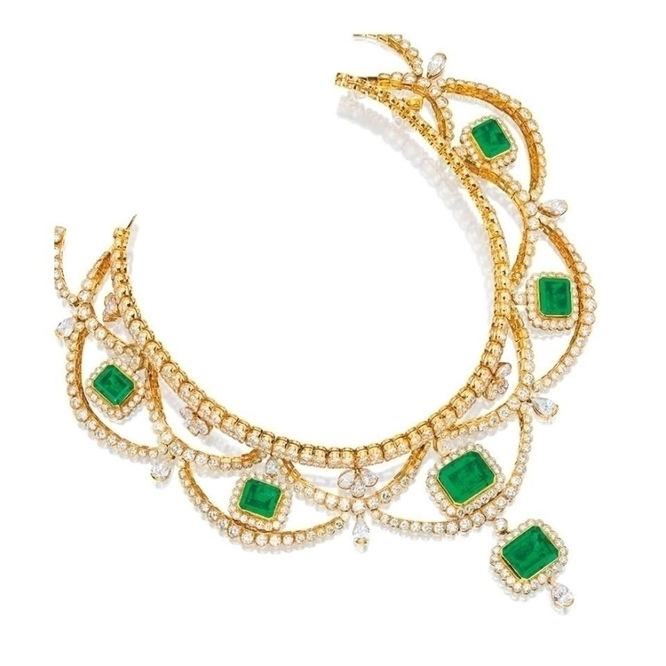 Necklace EMERALD AND DIAMOND NECKLACE, FRED LEIGHTON.jpg