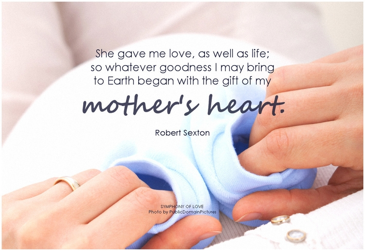 Robert Sexton She gave me love, as well as life, so whatever goodness I may bring to Earth began with the gift of my mother's heart.png