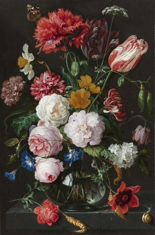 Still Life with Flowers in a Glass Vase, Jan Davidsz. de Heem, 1650 - 1683.jpg