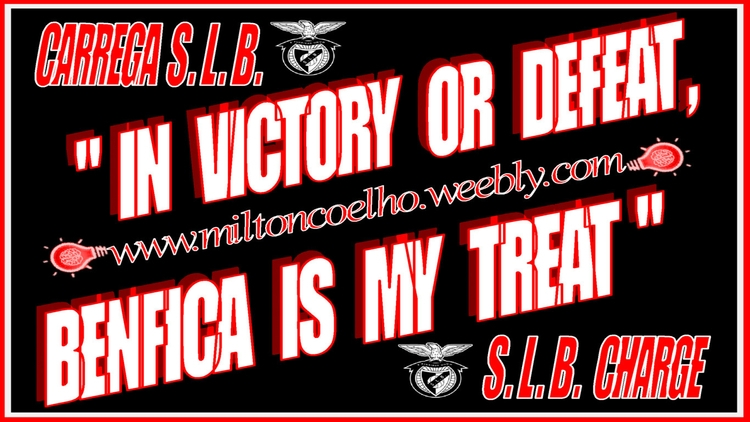 04 In victory or defeat, Benfica is my treat (wallpaper - black and white colors logo).png