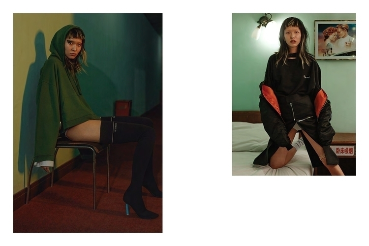 Vetements for High Snobiety. Photo by Liu Song. Styling by Cheng Feng. Makeup by Xin Miao. Model Liu Jia Tong. 5.jpg