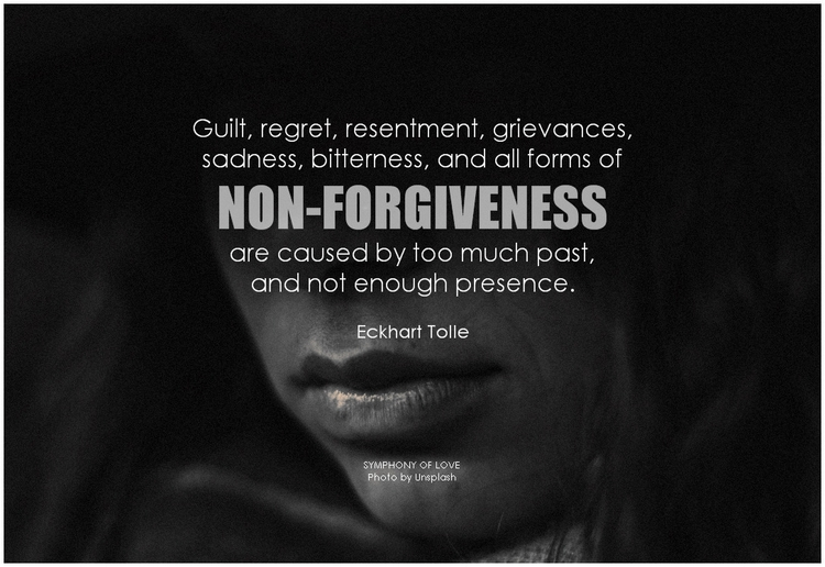 forgiveness and guilt We human beings can feel guilty enough about ourselves and the things we have done without the need for the church to amplify the effect on our shame and guilt i think feelings of guilt can be hauntingly present all the time and are not easily dismissed by the act of confession of sins and absoluti.