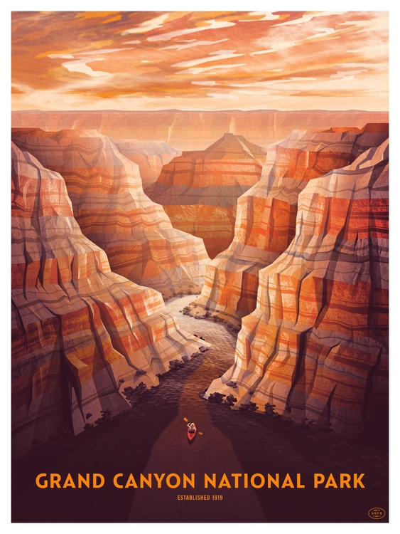 Grand Canyon National Park prin - justincline | ello