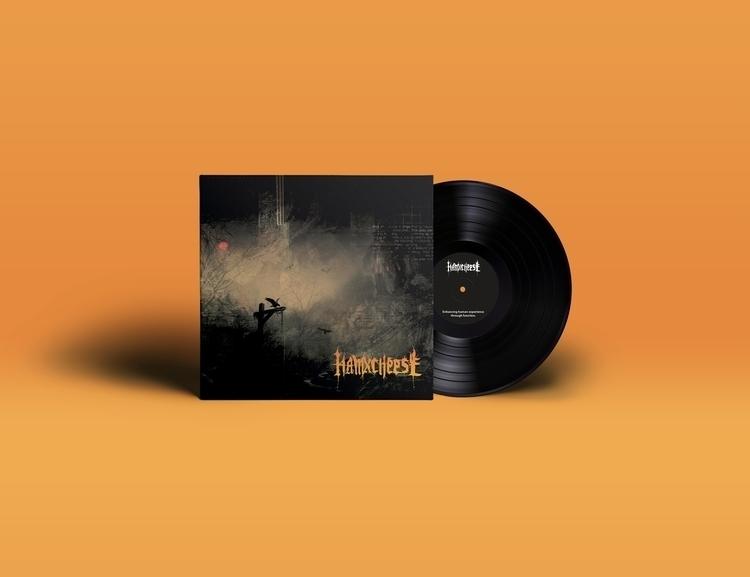 hamxcheese vinyl albumart - hamxcheese | ello