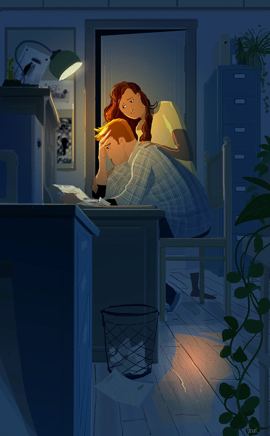 Worries. Sometimes I feel falli - pascalcampion | ello