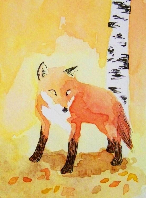 My favorite watercolor art ink  - todrawtoday | ello