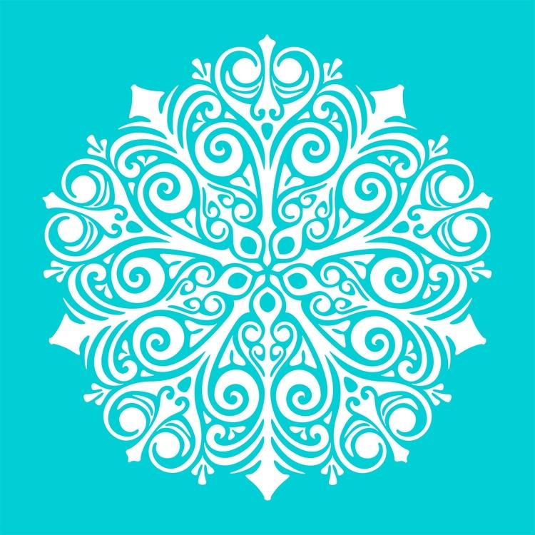 Nº 9. art illustration symmetry - csilverman | ello