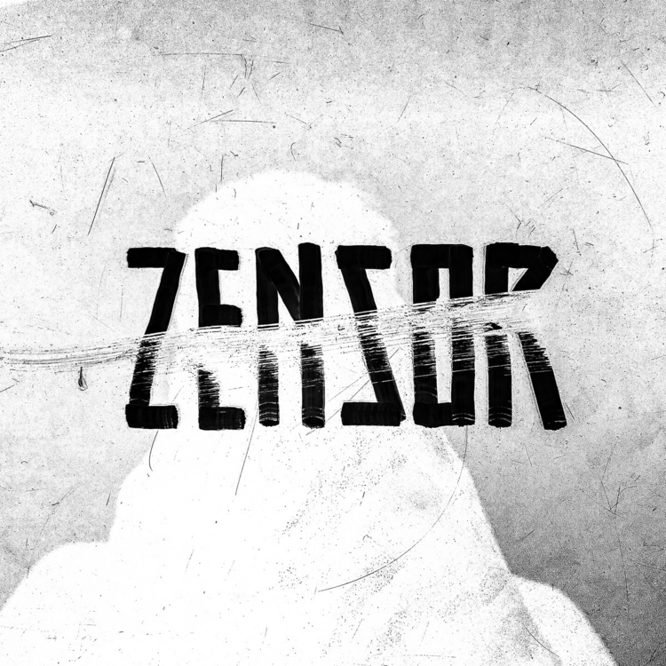 censor — typography lettering c - vndlzr | ello