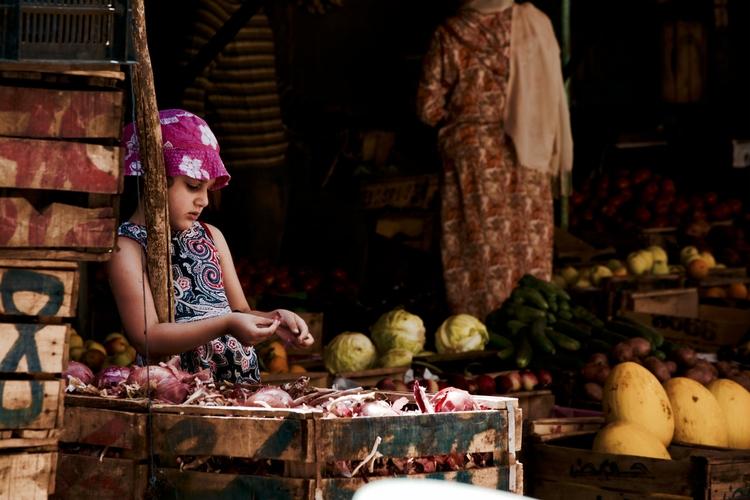 Young Girl Pink Hat (Morocco 20 - dainahodgson | ello