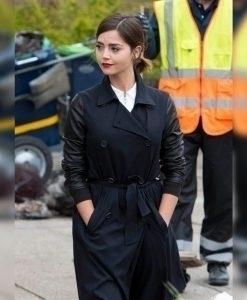 Clara_Oswald_Navy_Blue_Coat Mat - staphinejohnson | ello