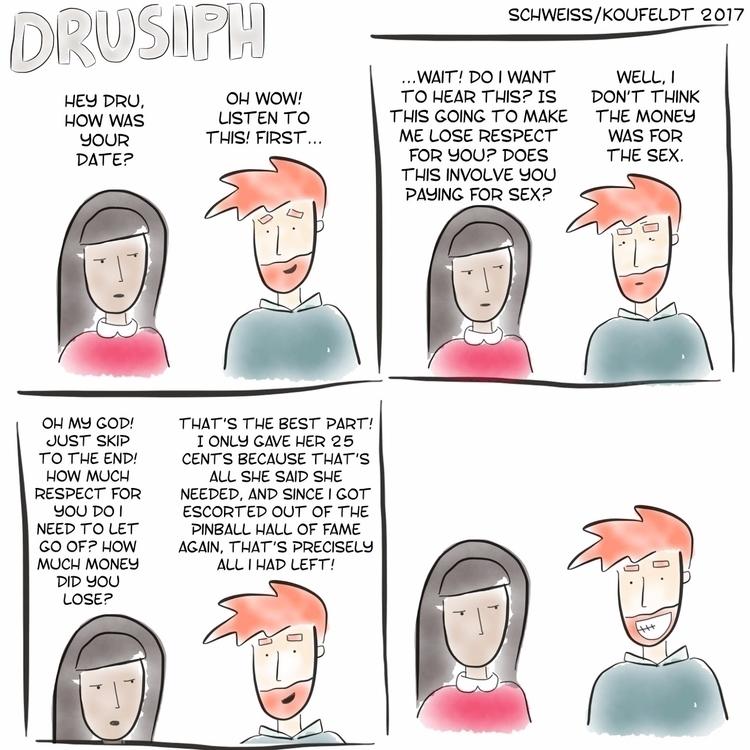 friday drusiph comic comicstrip - drusiph | ello