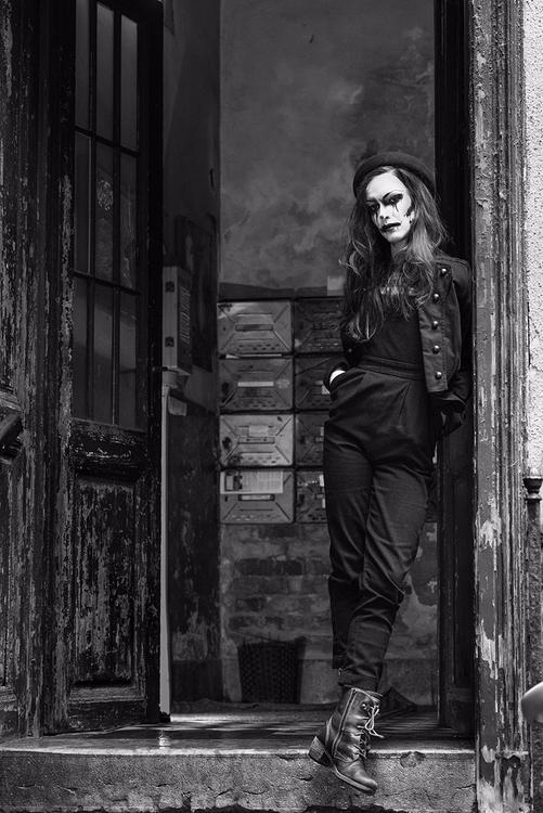 """Budapest Clown"" — Photographer - darkbeautymag | ello"