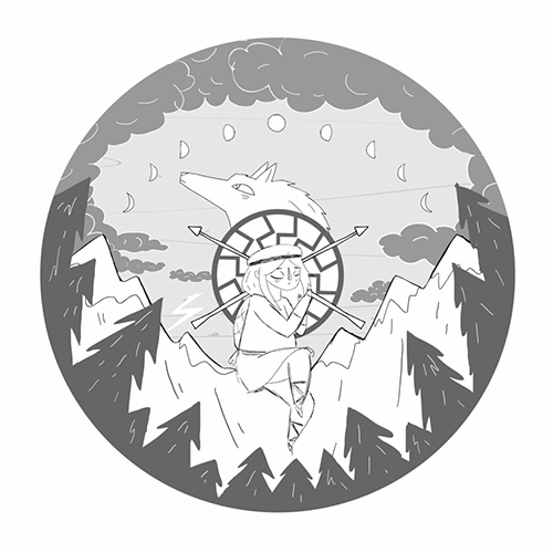 Skadi, giantess goddess Norse m - joyandnoelle | ello