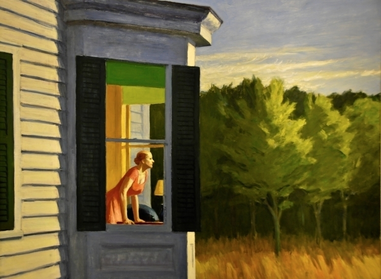 Edward Hopper: Cape Cod Morning - arthurboehm   ello