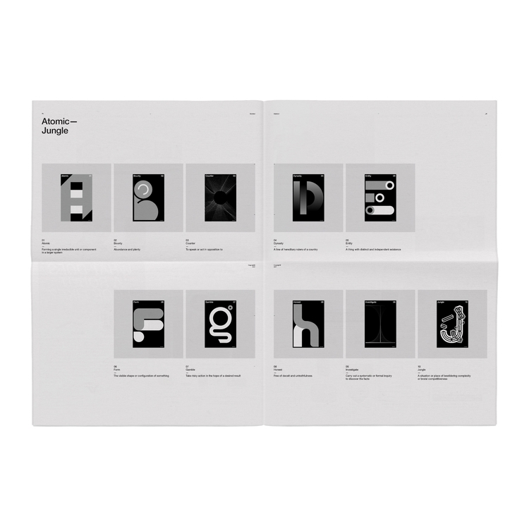 Alphabet—Newsprint - jschachterle | ello