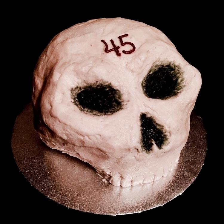 Just realized cake I 45th birth - x_hj_x | ello