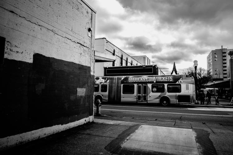 The bustling big city Eugene. - tomchamberlain | ello