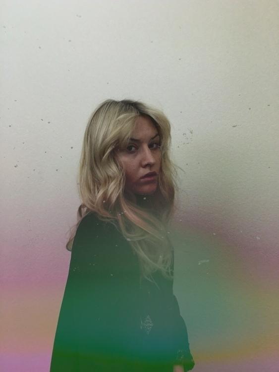 charm feb portrait blonde - theleggyblonde | ello