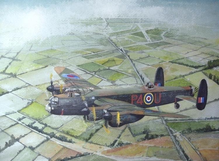 A 153 Squadron Lancaster circui - johnlowerson | ello