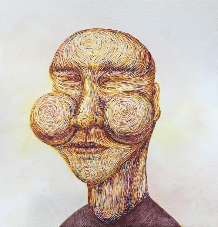 fineart art lines linework - tsaiyushan | ello