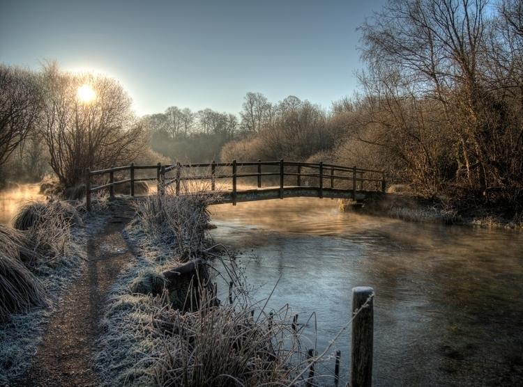 Bridge River Itchen, This footb - neilhoward | ello