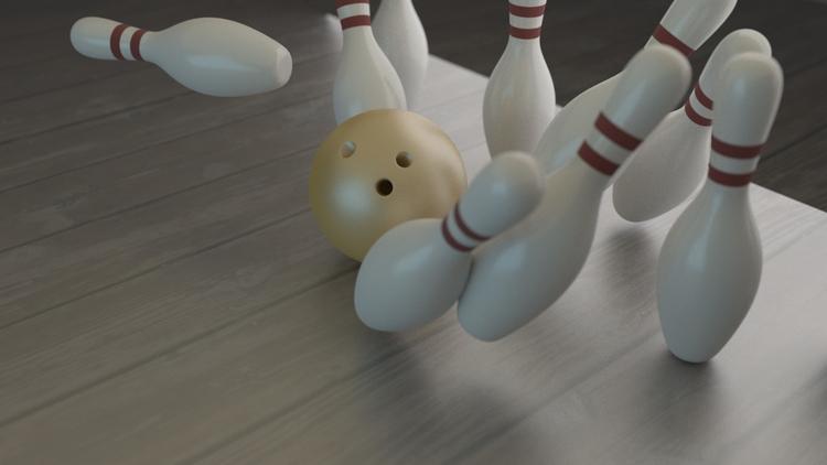 3D STUDIES 02 blender bowling m - thelucifer92 | ello