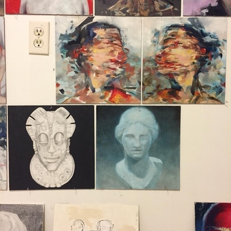 A paintings studio - zimbro | ello