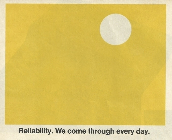 Reliability. design typography  - modernism_is_crap | ello