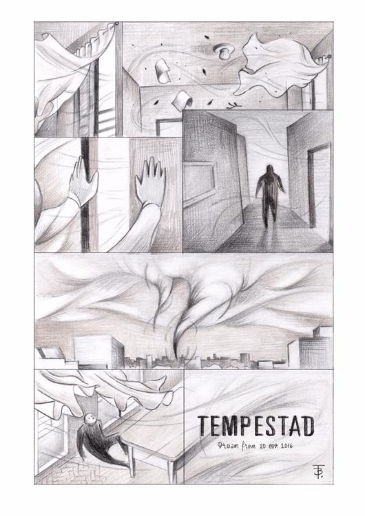 Tempestad (Nocturno VII) sequen - tereau | ello
