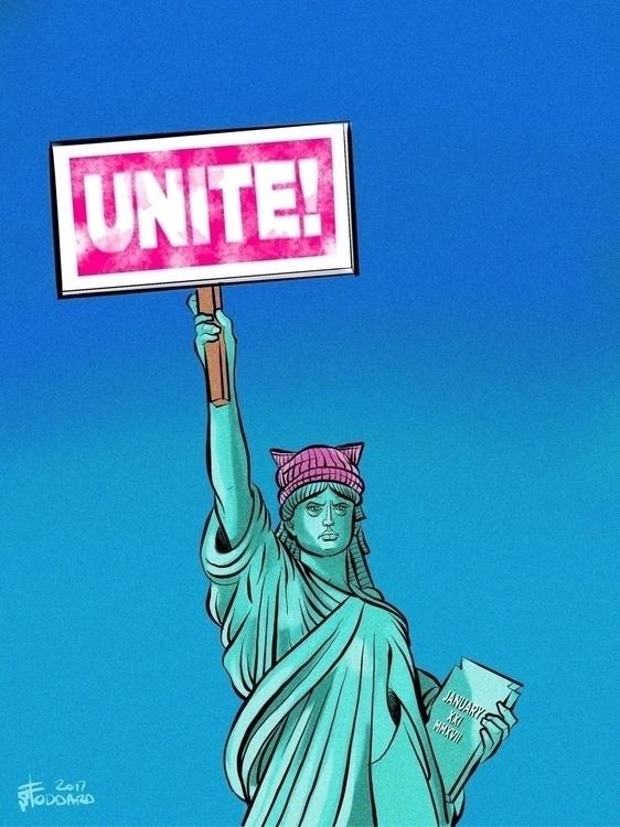 Unite! illustration, editorial, - sstoddard   ello