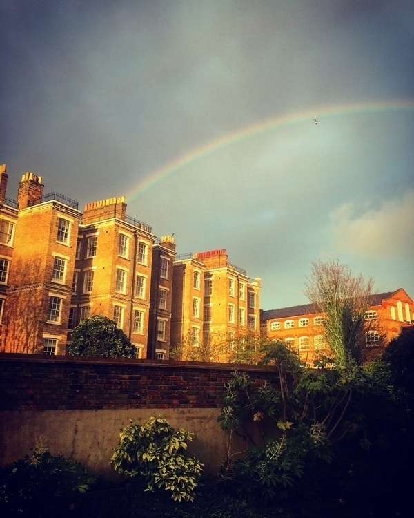 helicopter rainbow home Wapping - howsweetthesting | ello