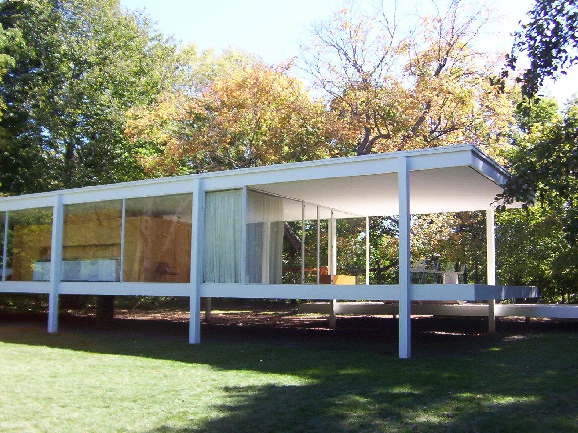 Farnsworth House, Plano IL; mie - marksusina | ello