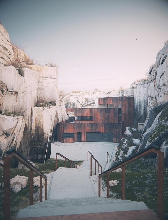Living quarry Elvin Aliyev 3D m - alexandreberthiaume | ello