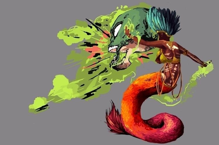 Cassiopeia - Feathered Serpent  - scriptkittie | ello