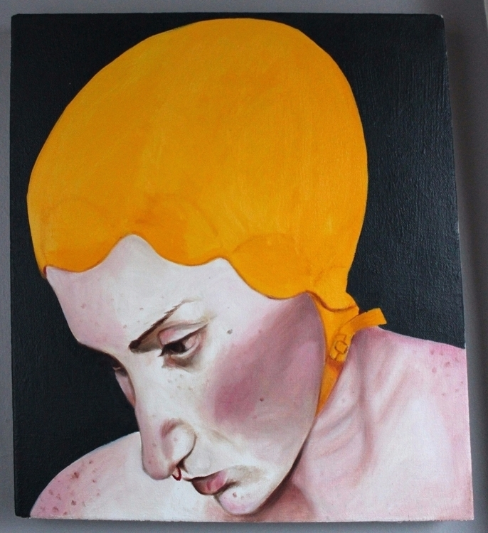 selfportrait painting - boone-daddy | ello