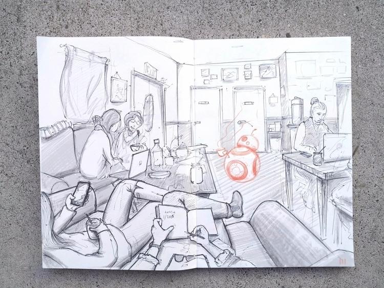 Perspective Sketch - mattmarcha - mattmarchand | ello