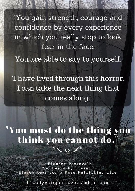I lived horror. inspiration str - cassiecarnage | ello