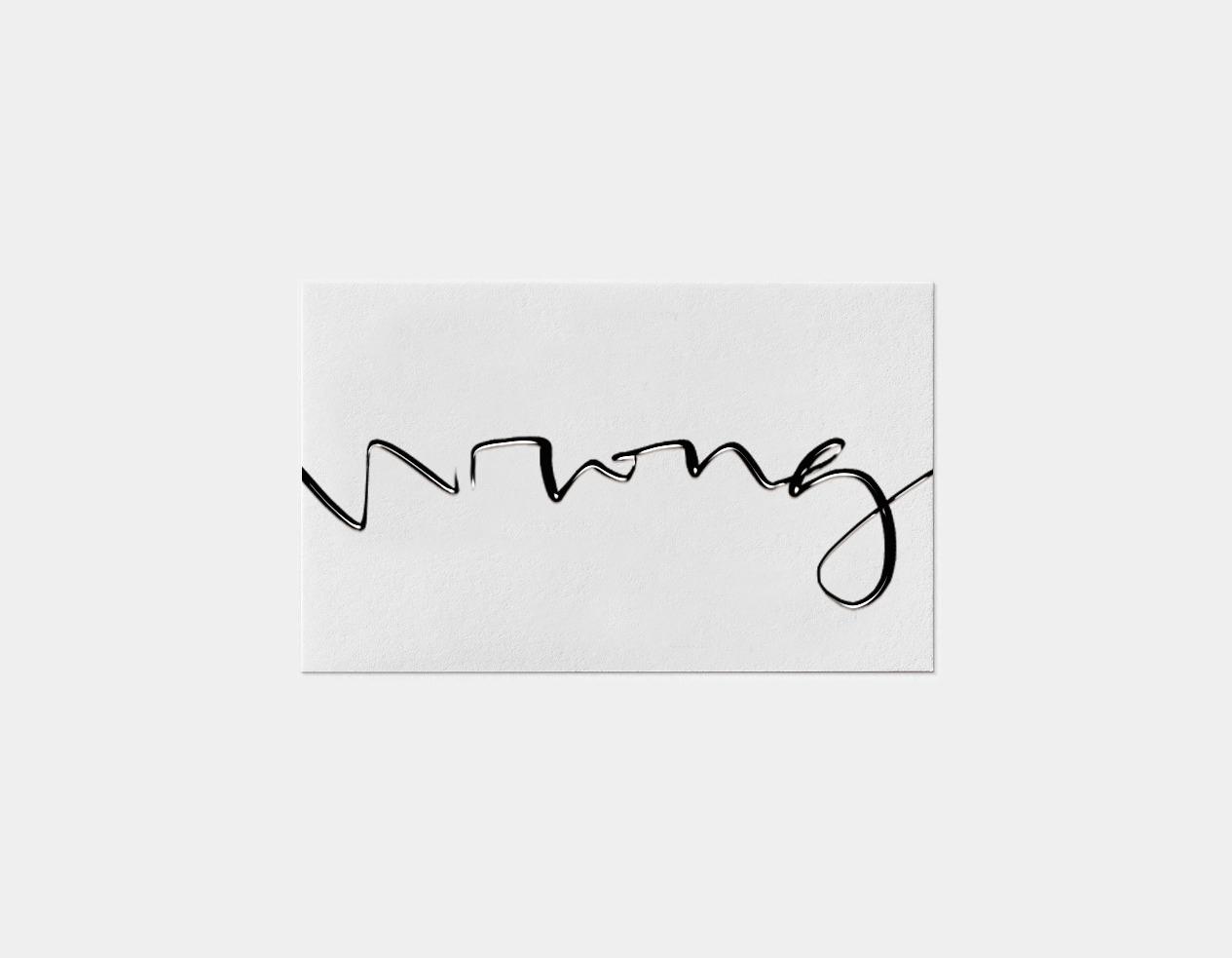 Wrong Card Bürocratik lettering - brunorodrigues | ello