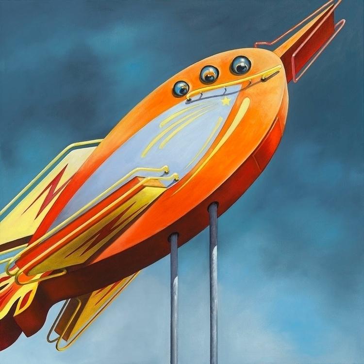 "( commission ) Rocket / 24"" oil - kellietalbot   ello"